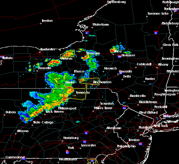 Radar Image for Severe Thunderstorms near Waverly, NY at 8/18/2019 3:36 PM EDT