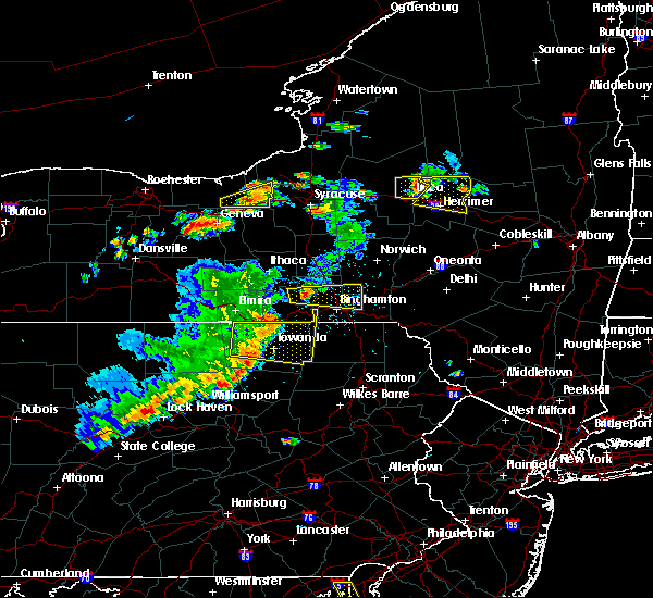 Radar Image for Severe Thunderstorms near Waverly, NY at 8/18/2019 3:42 PM EDT