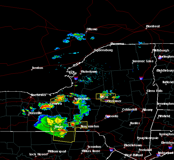 Radar Image for Severe Thunderstorms near Clyde, NY at 8/18/2019 3:44 PM EDT