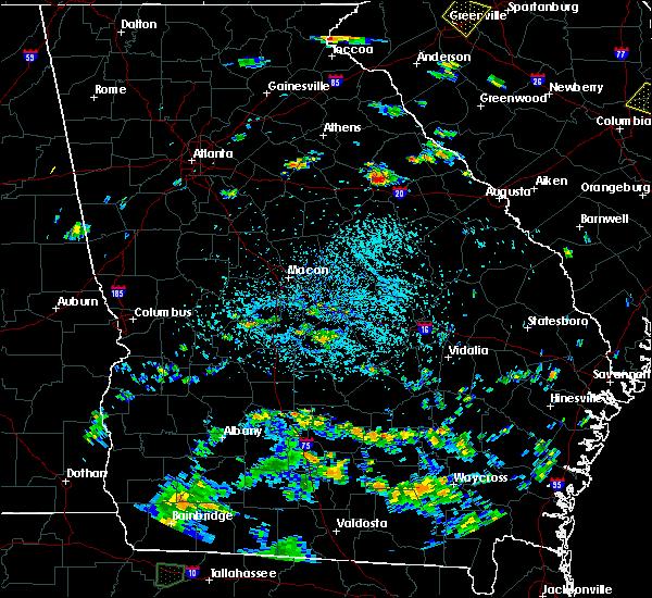 Radar Image for Severe Thunderstorms near Woodville, GA at 8/18/2019 3:48 PM EDT
