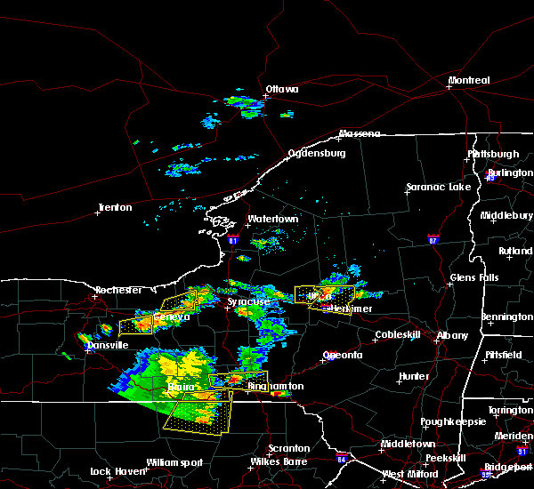 Radar Image for Severe Thunderstorms near Clyde, NY at 8/18/2019 3:59 PM EDT