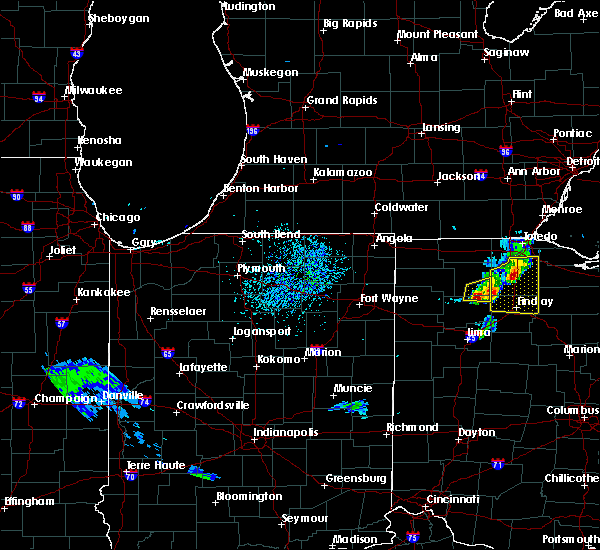 Radar Image for Severe Thunderstorms near West Leipsic, OH at 8/18/2019 4:17 PM EDT