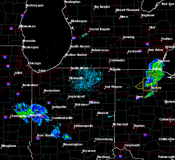 Radar Image for Severe Thunderstorms near West Leipsic, OH at 8/18/2019 4:41 PM EDT