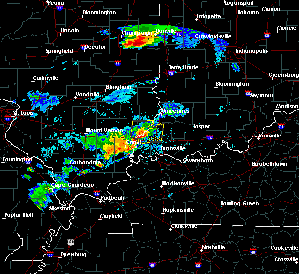 Radar Image for Severe Thunderstorms near Cynthiana, IN at 8/18/2019 5:02 PM EDT