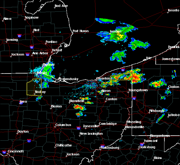 Radar Image for Severe Thunderstorms near Polk, OH at 8/18/2019 5:02 PM EDT