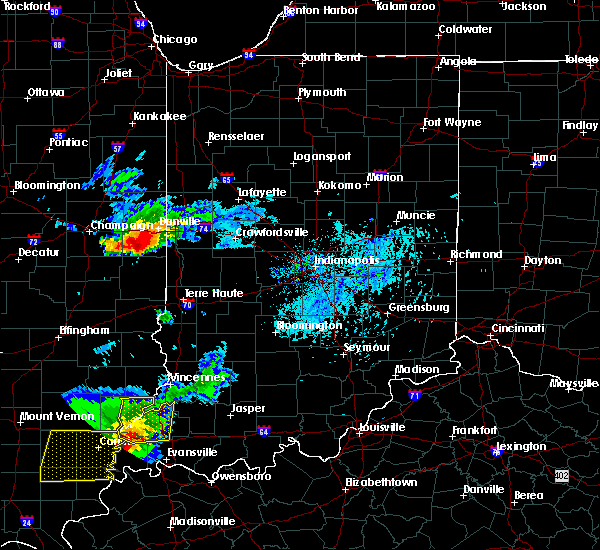 Radar Image for Severe Thunderstorms near Belgium, IL at 8/18/2019 4:18 PM CDT