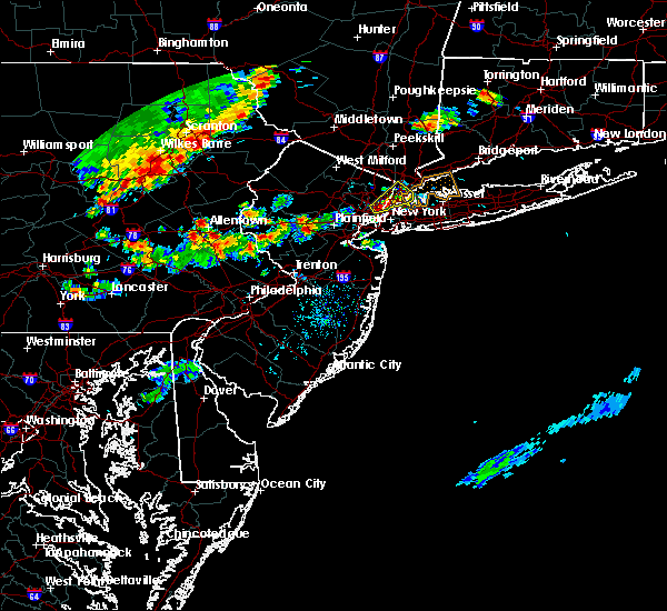 Radar Image for Severe Thunderstorms near Fullerton, PA at 8/18/2019 5:41 PM EDT
