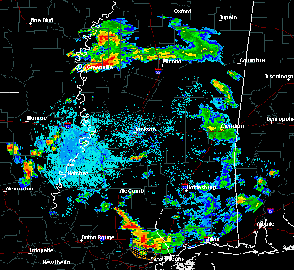 Radar Image for Severe Thunderstorms near Leland, MS at 8/18/2019 5:32 PM CDT