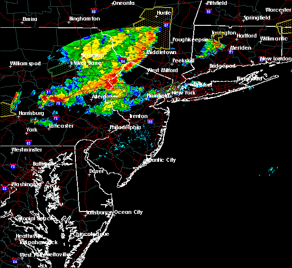 Radar Image for Severe Thunderstorms near Wind Gap, PA at 8/18/2019 6:43 PM EDT