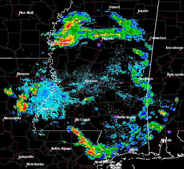 Radar Image for Severe Thunderstorms near Leland, MS at 8/18/2019 5:51 PM CDT