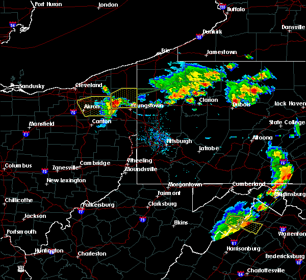 Radar Image for Severe Thunderstorms near Campbell, OH at 8/18/2019 6:59 PM EDT