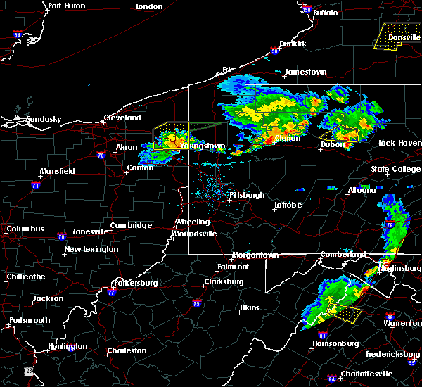Radar Image for Severe Thunderstorms near Girard, OH at 8/18/2019 7:26 PM EDT