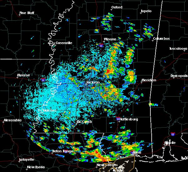 Radar Image for Severe Thunderstorms near Polkville, MS at 8/19/2019 1:56 PM CDT