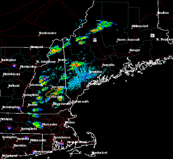 Radar Image for Severe Thunderstorms near Dixfield, ME at 8/19/2019 3:16 PM EDT