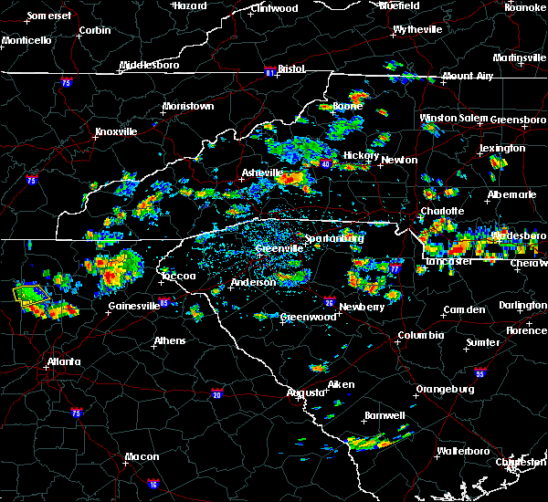 Radar Image for Severe Thunderstorms near Valley Hill, NC at 8/19/2019 3:16 PM EDT