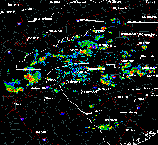 Radar Image for Severe Thunderstorms near Valley Hill, NC at 8/19/2019 3:25 PM EDT