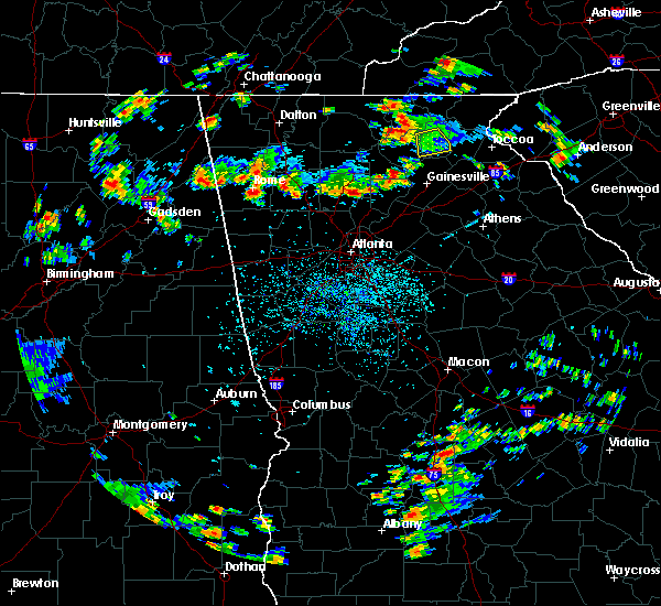 Radar Image for Severe Thunderstorms near Canton, GA at 8/19/2019 3:51 PM EDT