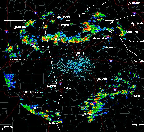 Radar Image for Severe Thunderstorms near Milton, GA at 8/19/2019 3:51 PM EDT