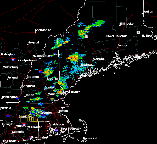 Radar Image for Severe Thunderstorms near Farmingdale, ME at 8/19/2019 3:51 PM EDT
