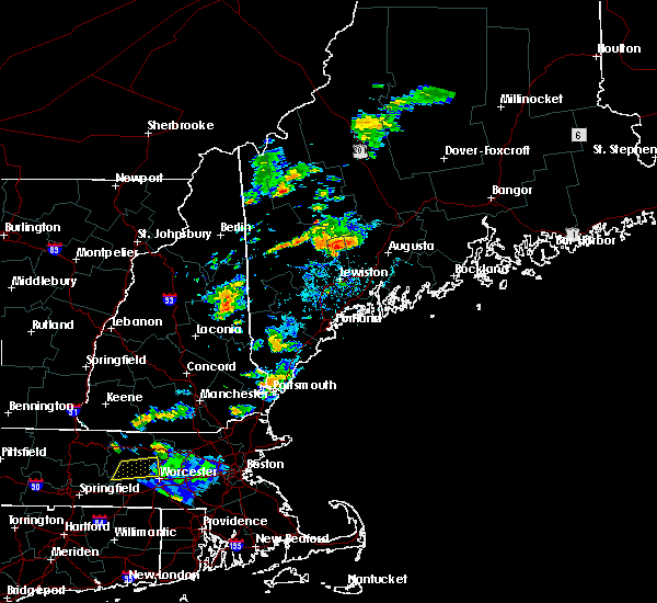 Radar Image for Severe Thunderstorms near South Eliot, ME at 8/19/2019 4:08 PM EDT