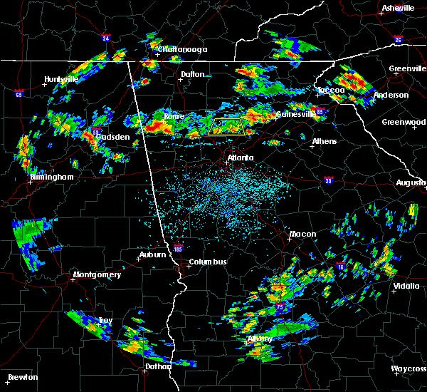 Radar Image for Severe Thunderstorms near Milton, GA at 8/19/2019 4:24 PM EDT