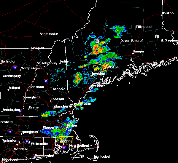 Radar Image for Severe Thunderstorms near Farmingdale, ME at 8/19/2019 5:02 PM EDT