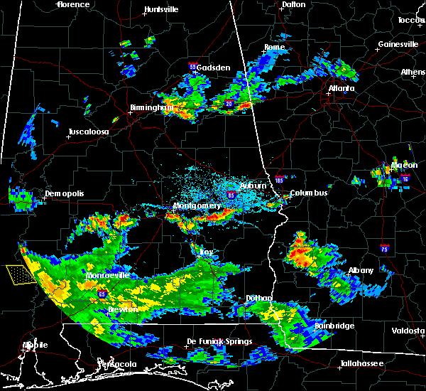 Radar Image for Severe Thunderstorms near Shorter, AL at 8/19/2019 5:15 PM CDT