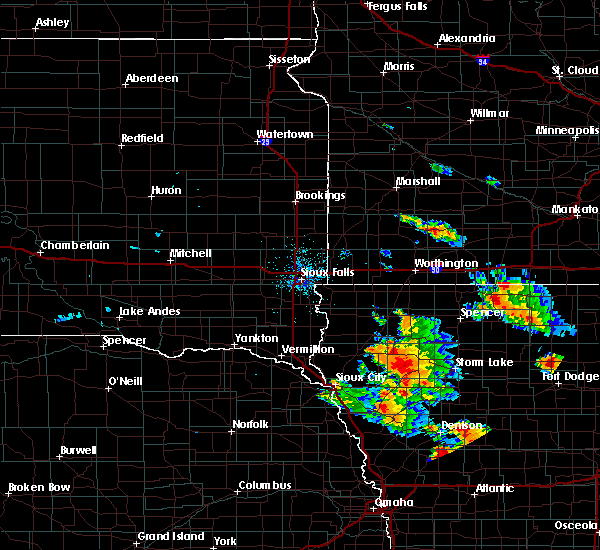 Radar Image for Severe Thunderstorms near Pierson, IA at 8/20/2019 2:35 AM CDT
