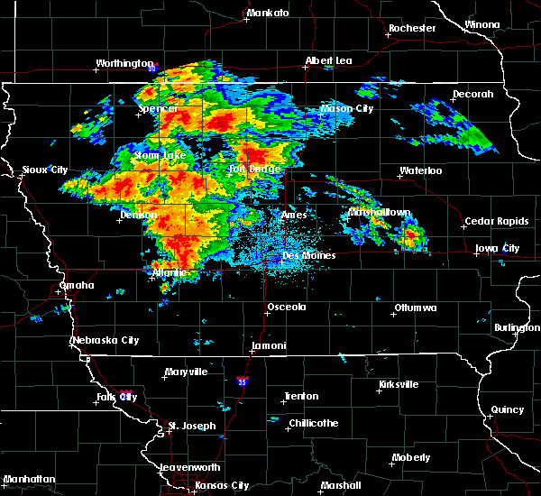 Radar Image for Severe Thunderstorms near Early, IA at 8/20/2019 3:47 AM CDT