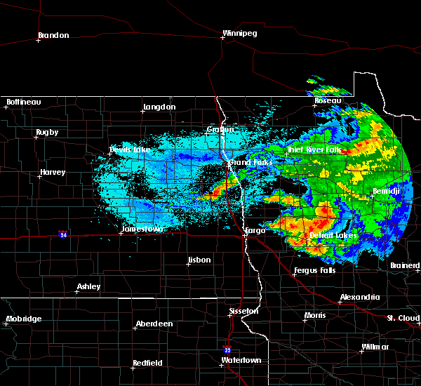 Radar Image for Severe Thunderstorms near Twin Lakes, MN at 8/20/2019 5:11 AM CDT