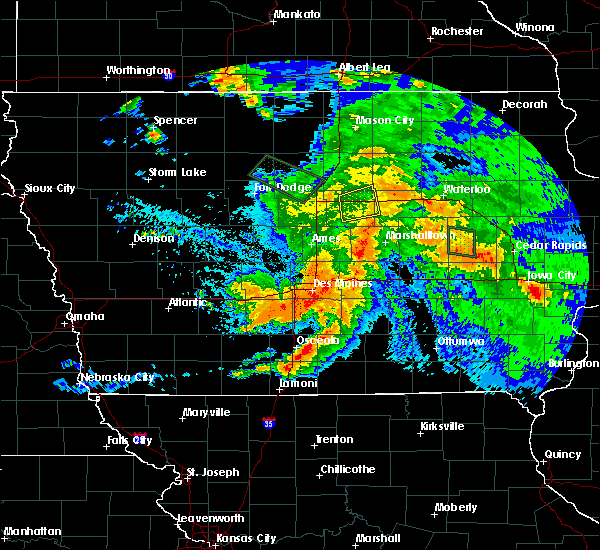 Radar Image for Severe Thunderstorms near St. Marys, IA at 8/20/2019 5:46 AM CDT