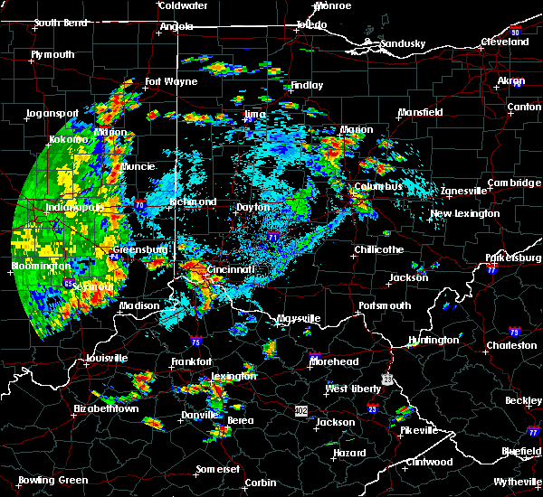 Radar Image for Severe Thunderstorms near Bellevue, KY at 8/20/2019 4:09 PM EDT