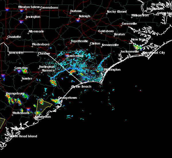 Radar Image for Severe Thunderstorms near Charleston, SC at 6/22/2015 4:17 PM EDT