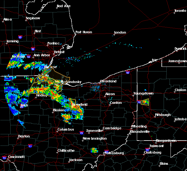Radar Image for Severe Thunderstorms near Lexington, OH at 8/20/2019 5:45 PM EDT