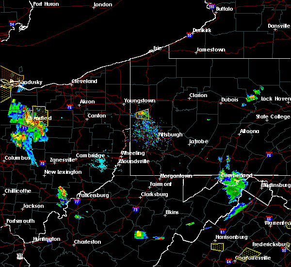 Radar Image for Severe Thunderstorms near Wampum, PA at 8/20/2019 5:52 PM EDT