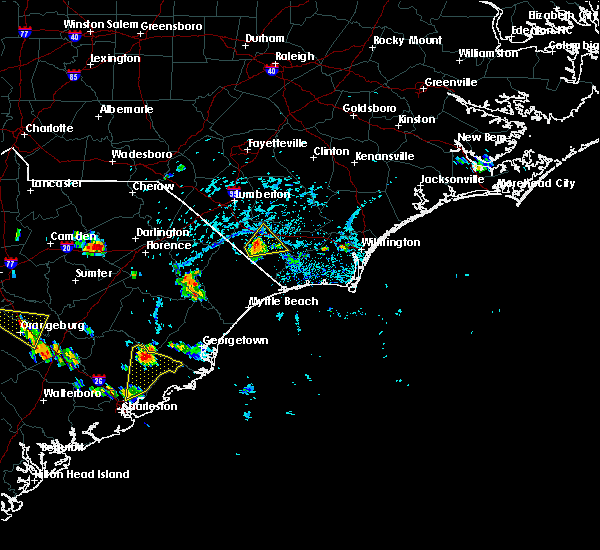 Radar Image for Severe Thunderstorms near Charleston, SC at 6/22/2015 4:33 PM EDT