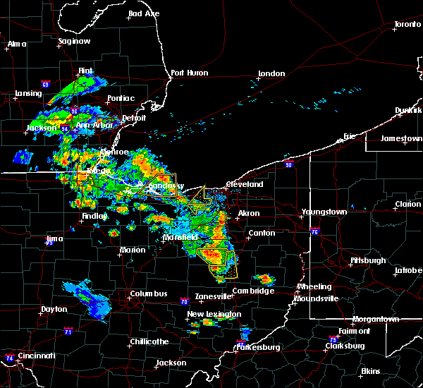 Radar Image for Severe Thunderstorms near Pheasant Run, OH at 8/20/2019 7:13 PM EDT