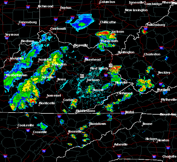 Radar Image for Severe Thunderstorms near Crum, WV at 8/20/2019 7:25 PM EDT