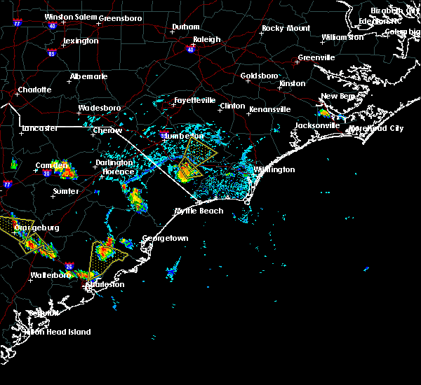 Radar Image for Severe Thunderstorms near Charleston, SC at 6/22/2015 4:53 PM EDT