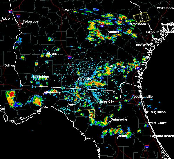 Radar Image for Severe Thunderstorms near Branford, FL at 6/22/2015 4:55 PM EDT