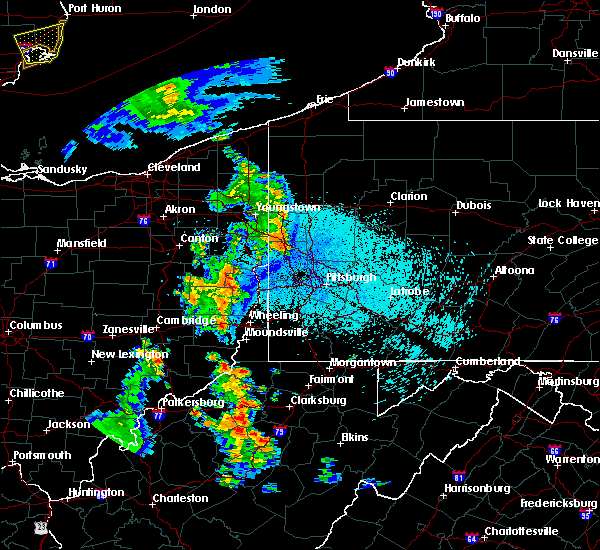 Radar Image for Severe Thunderstorms near Lafferty, OH at 8/20/2019 9:43 PM EDT