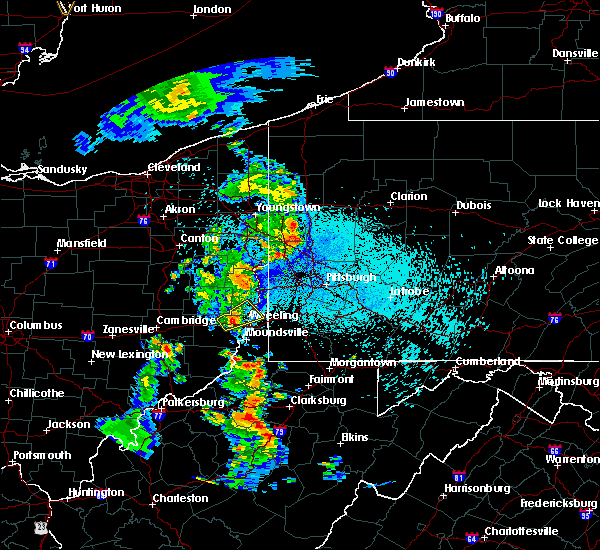 Radar Image for Severe Thunderstorms near Mount Pleasant, OH at 8/20/2019 9:50 PM EDT