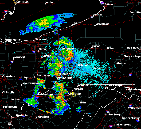 Radar Image for Severe Thunderstorms near Lafferty, OH at 8/20/2019 10:05 PM EDT