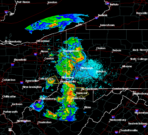 Radar Image for Severe Thunderstorms near Lafferty, OH at 8/20/2019 10:32 PM EDT
