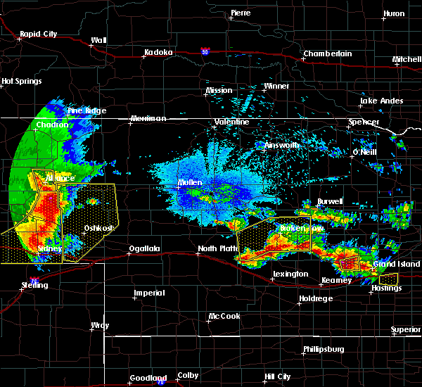 Radar Image for Severe Thunderstorms near Comstock, NE at 8/21/2019 1:13 AM CDT