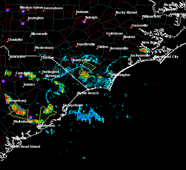Radar Image for Severe Thunderstorms near Charleston, SC at 6/22/2015 5:12 PM EDT