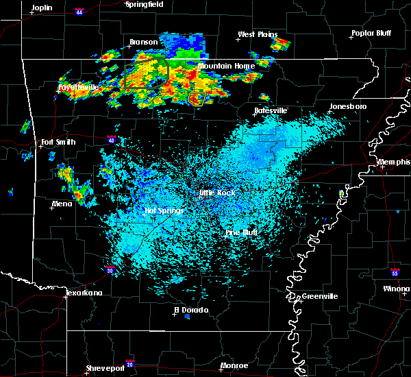 Radar Image for Severe Thunderstorms near Big Flat, AR at 8/21/2019 3:39 PM CDT