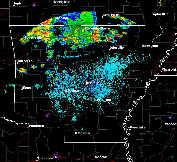 Radar Image for Severe Thunderstorms near Evening Shade, AR at 8/21/2019 4:35 PM CDT