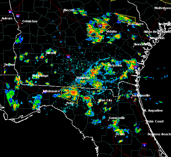 Radar Image for Severe Thunderstorms near Madison, FL at 6/22/2015 5:39 PM EDT