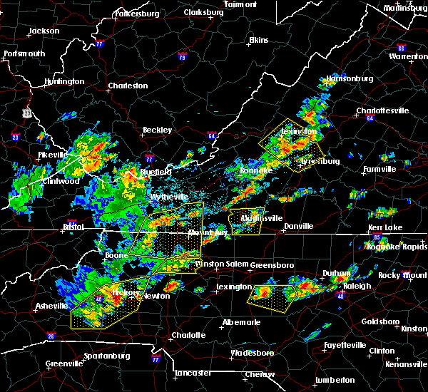 Radar Image for Severe Thunderstorms near Galax, VA at 8/22/2019 2:59 PM EDT